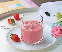 草莓豆浆汁的做法