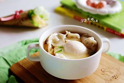紫菜虾皮鲜肉馄饨,营养早餐轻松搞定