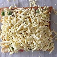 吐司披萨#百吉福食尚达人#的做法图解5