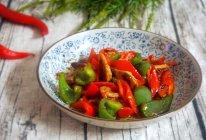 双椒黄豆酱炒肉片的做法