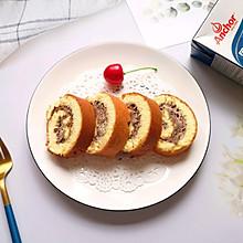 #安佳食力召集,力挺新一年#奥利奥奶油蛋糕卷