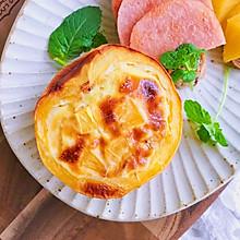 黄桃蛋奶布丁