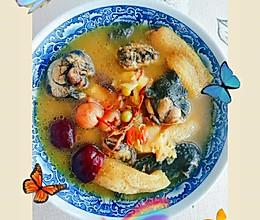 #入秋滋补正当时#十全营养乌鸡汤的做法