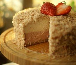 草莓双层芝士蛋糕的做法