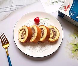 #安佳食力召集,力挺新一年#奥利奥奶油蛋糕卷的做法