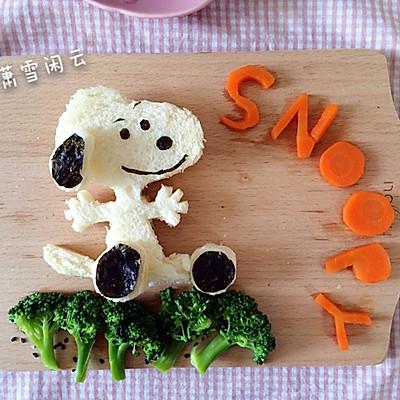 snoopy 早餐