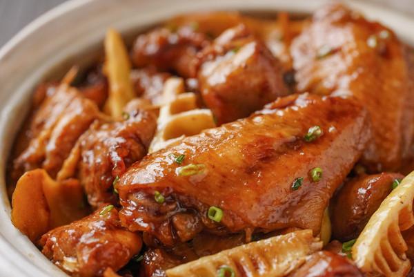 日食记 | 竹笋焖鸡的做法