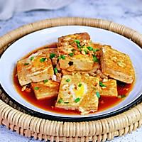 #憋在家里吃什么#茄汁鹌鹑蛋酿豆腐的做法图解13