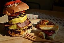 超级汉堡的做法