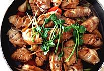 鸡翅焖锅的做法