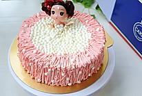 泡泡浴迷糊娃娃生日蛋糕#豆果5周年#的做法