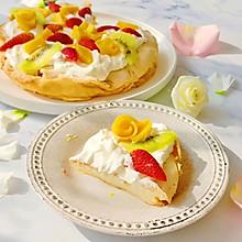 Pavlova 水果奶油蛋白饼 -- 手残党的浪漫甜点