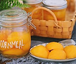 三分钟学会做好吃的黄桃罐头,酸酸甜甜超清爽~的做法