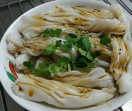 纯米浆肠粉的做法