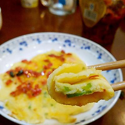 什锦鸡蛋饼