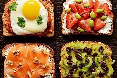 21种营养早餐吐司搭配