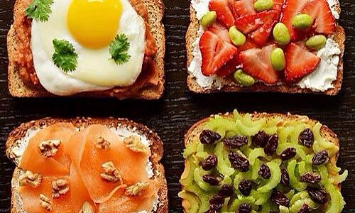 21种营养早餐吐司搭配的做法