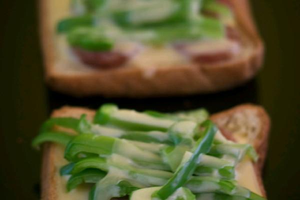 土司披萨的做法