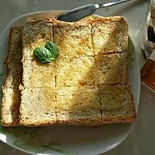 蜂蜜烤面包片