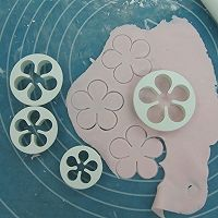 换个方式做翻糖花---翻糖蛋糕(七)---桃花盛开的做法图解35