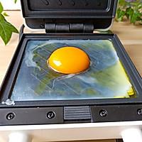#520,美食撩动TA的心!#芝士糖心蛋吐司的做法图解3