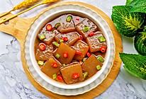 低脂零卡的红烧魔芋豆腐的做法