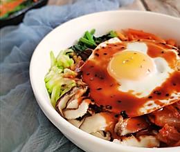 懒人必备简单快手的韩式五花肉拌饭的做法