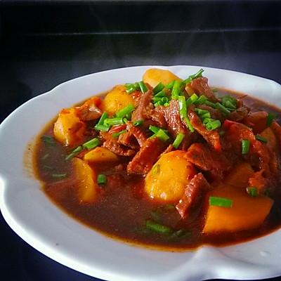 番茄土豆焖牛肉灬《高压锅版》