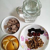 核桃雪梨汤 - 健脑的滋补汤水的做法图解1