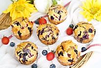 #助力高考营养餐#爆浆莓莓杏仁蛋糕的做法
