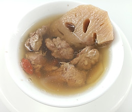 月子汤谱 | 核桃藕汁瘦肉汤,清热排恶露的做法