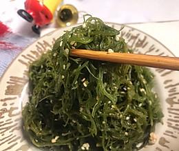 日式凉拌海草的做法