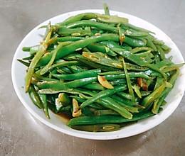 清炒扁豆丝的做法