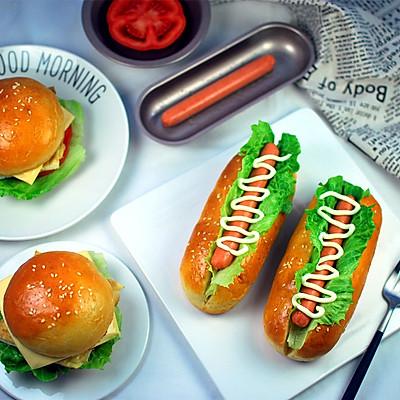 热狗&煎蛋汉堡