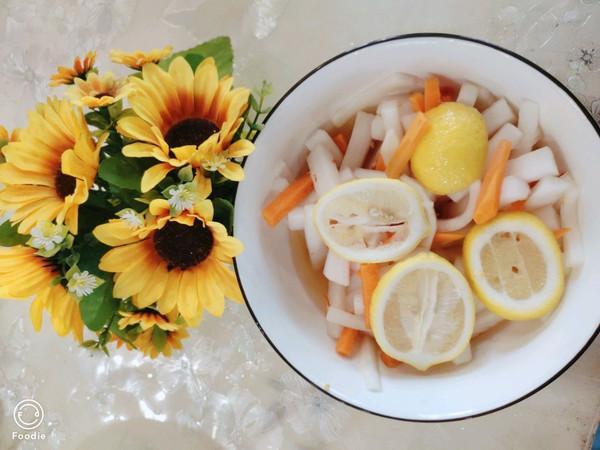 超开胃适合新手的柠檬酸辣萝卜条