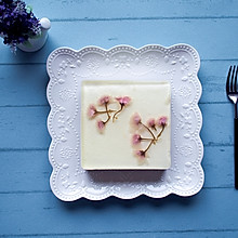 樱花牛奶慕斯蛋糕#妈妈节日快乐#