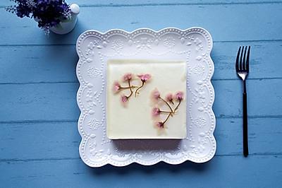 樱花牛奶慕斯蛋糕