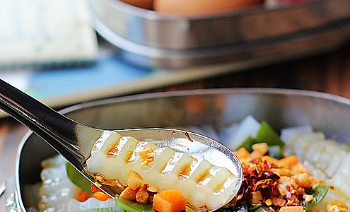 私房冰爽绿豆凉粉的做法