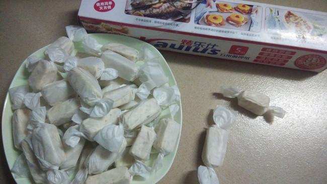 超香的零添加牛轧糖~的做法