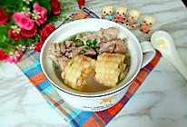 玉米胡萝卜排骨汤#给老爸做道菜#的做法