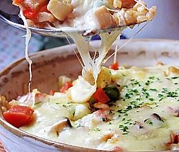 烤肉酱奶酪焗饭的做法