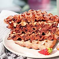 巧克力華夫餅的做法圖解10
