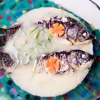 奶白鲫鱼汤——利仁电火锅试用菜谱的做法图解9