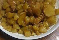 五花肉烧土豆丁的做法