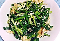 虾皮韭菜鸡蛋的做法