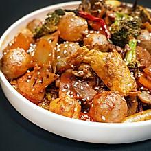 香得千里之外种稻谷的老爷爷直说应该多种几亩地的下饭麻辣香锅