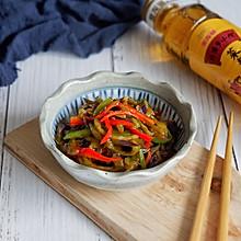 彩椒烩茄丝#金龙鱼外婆乡小榨菜籽油 外婆的时光机#