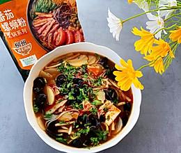 #饕餮美味视觉盛宴#番茄螺狮粉火锅的做法