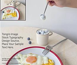水果酸奶+鸡蛋的做法