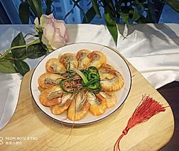 白煮大虾的做法